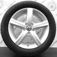 "17"" VW 5-eget design ASPEN 215/55R17 Goodyear"
