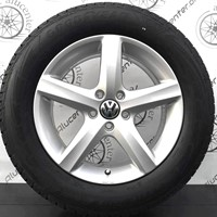 "17"" VW TIGUAN ASPEN 215/65R17 Goodyear vinter"